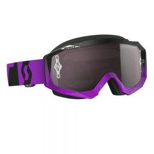 Scott MOTO Hustle MXVI oxide purple-black-silver chrome