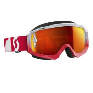 SCOTT Hustle MXVI oxide red-white-orange chrome