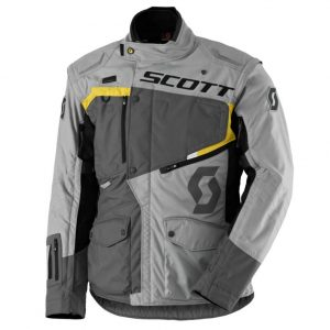 SCOTT Dualraid DP grey-yellow – M (46-48)