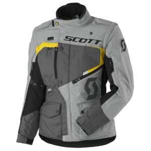 SCOTT W's Dualraid DP grey-yellow – 3XL (44)