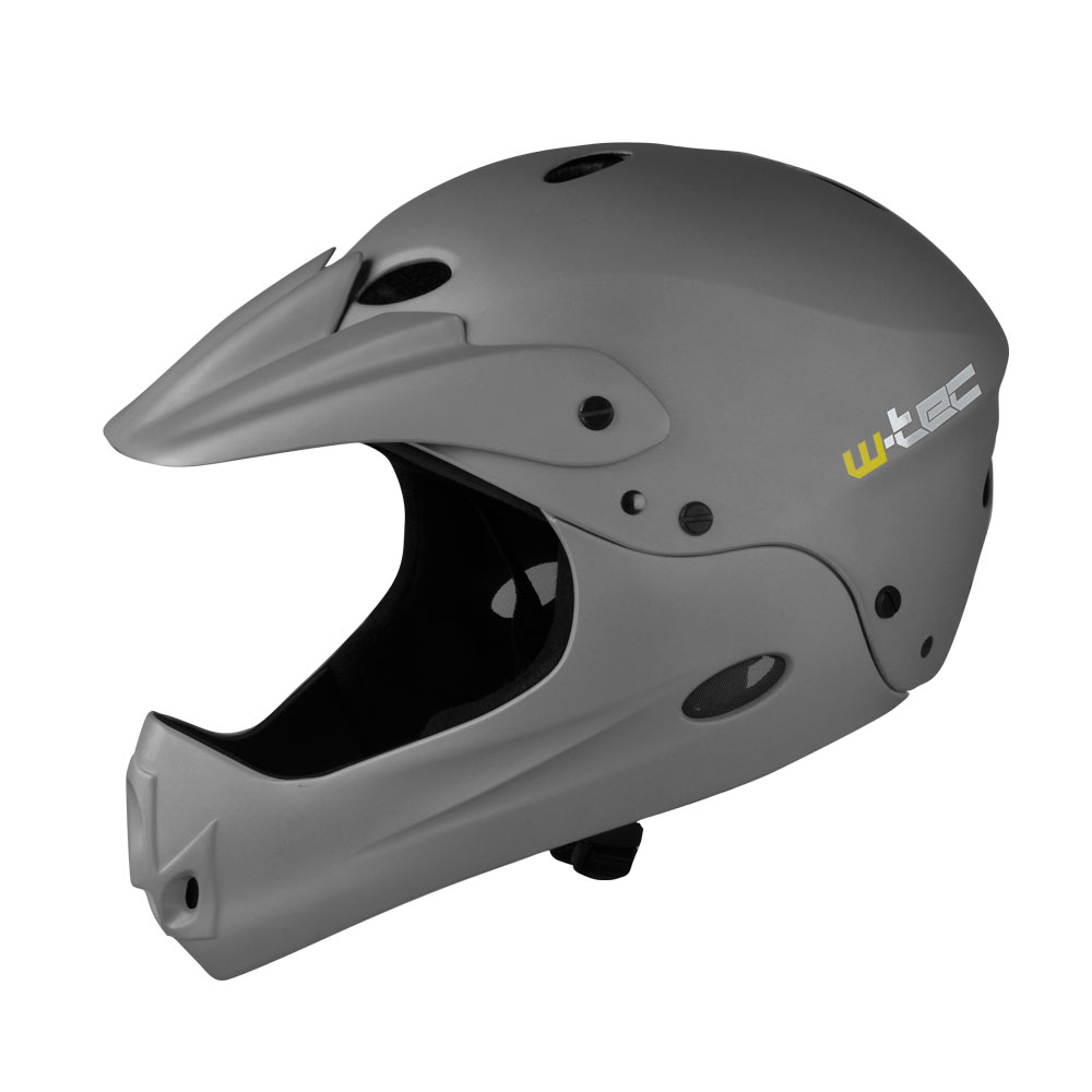 W-TEC Downhill tmavo šedá – M (54-58)