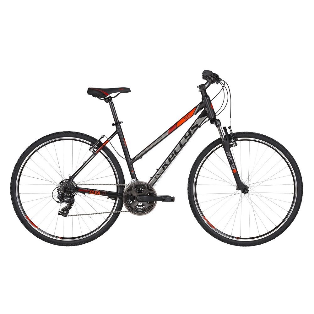 "Kellys CLEA 10 28"" – model 2019 Black Red – M (19"")"