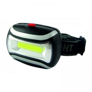 Bateriecentrum COB Headlamp 3W strieborná
