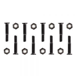 WORKER Podvozkové šrouby 5×28 mm čierna