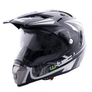 W-TEC NK-311 Cube Black Grey – M (57-58)