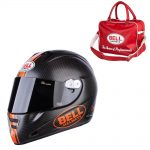 Bell M5X Daytona Carbon Matte Orange L (59-60)