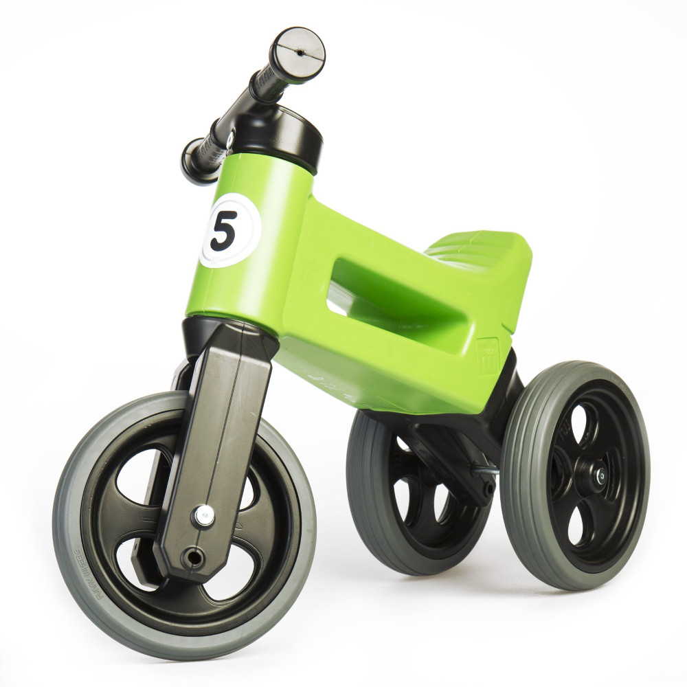 Funny Wheels Rider Sport Racing Green