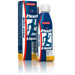 Nutrend Flexit Liquid 500 ml citrón
