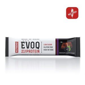 Nutrend EVOQ 60g čokoláda a čierna ríbezla