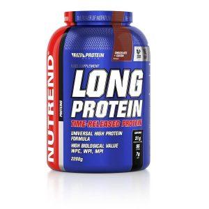 Nutrend Long Protein s BCAA 2200g vanilka