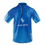 4ever Pánský cyklo dres 4EVER s krátkým rukávem modrá - L