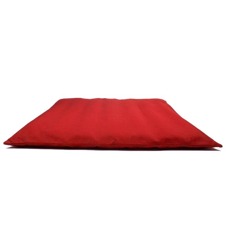 Zafu Zabuton červená