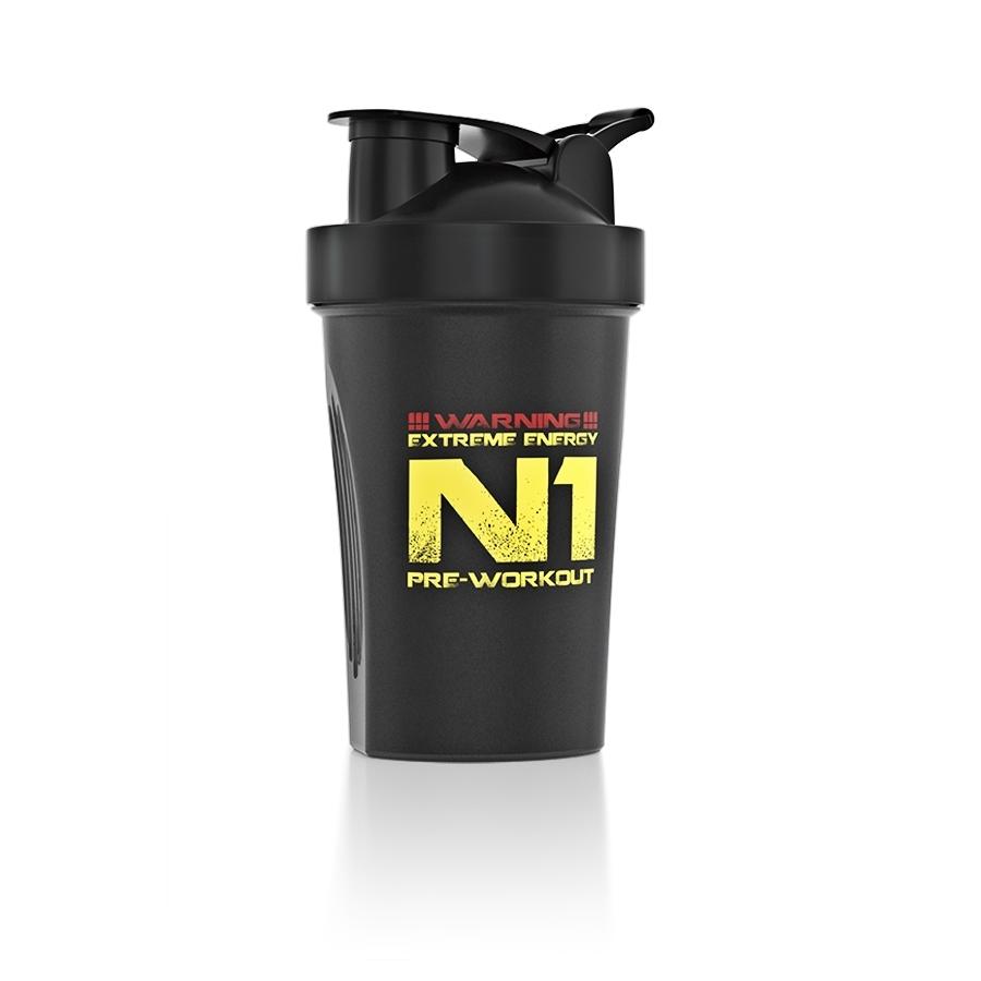 Nutrend Shaker 400 ml čierna