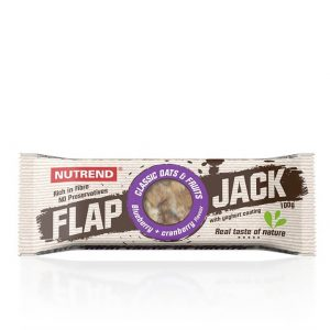 Nutrend FlapJack 100 g čučoriedka+brusnica s jogurtovou polevou