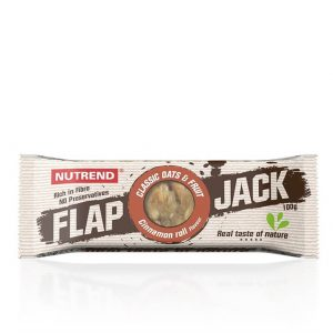 Nutrend FlapJack 100 g skoricový slimák