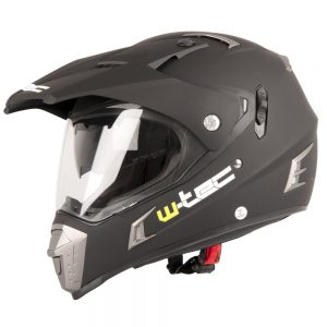 W-TEC NK-311 Matt Black – S (55-56)