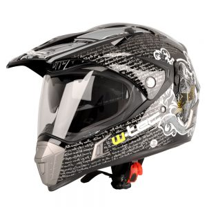 W-TEC NK-311 Duo Sport Black Grey – XS (53-54)