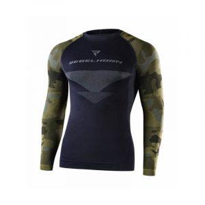 Rebelhorn Freeze Jersey čierna-kamufláž – XL
