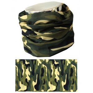 MTHDR Scarf Green Camo