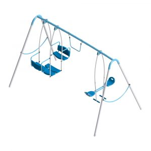 WORKER Dětská zahradní houpačka Triple Swing