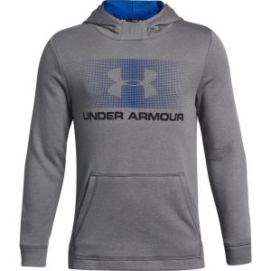 Under Armour Ctn French Terry Hoody Graphite – YS