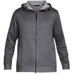 Under Armour Sportstyle Sweater Fleece FZ CARBON HEATHER / STEEL - M