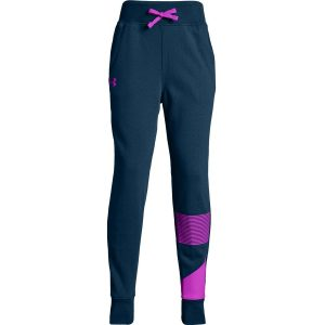 Under Armour Rival Jogger Techno Teal /  / Fluo Fuchsia – YM