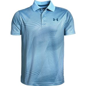 Under Armour Performance Polo Novelty Boho Blue – YXL