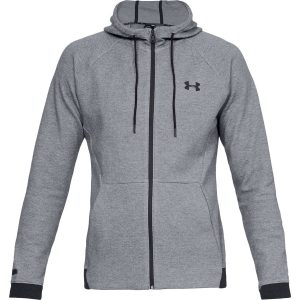 Under Armour Unstoppable 2X Knit FZ Steel – XL