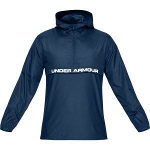 Under Armour Sportstyle Woven Layer Petrol Blue – L
