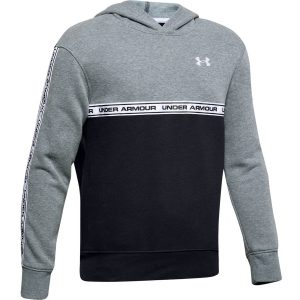 Under Armour SportStyle Fleece Hoodie Wire Light Heather – YM