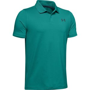 Under Armour Performance Polo 2.0 Teal Rush – YL