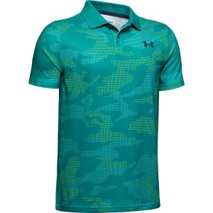 Under Armour Performance Polo 2.0 Novelty Teal Rush – YL