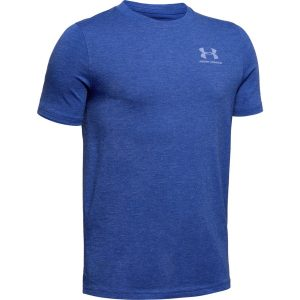 Under Armour UA Cotton SS Royal Medium Heather – YL
