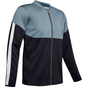 Under Armour Athlete Recovery Knit Warm Up Top Ash Gray – S