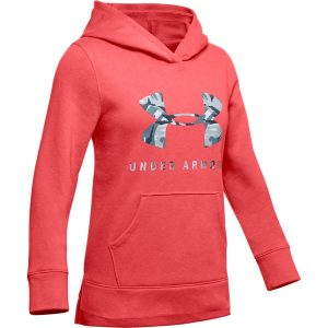 Under Armour Rival Print Fill Logo Hoodie Daiquiri – YL