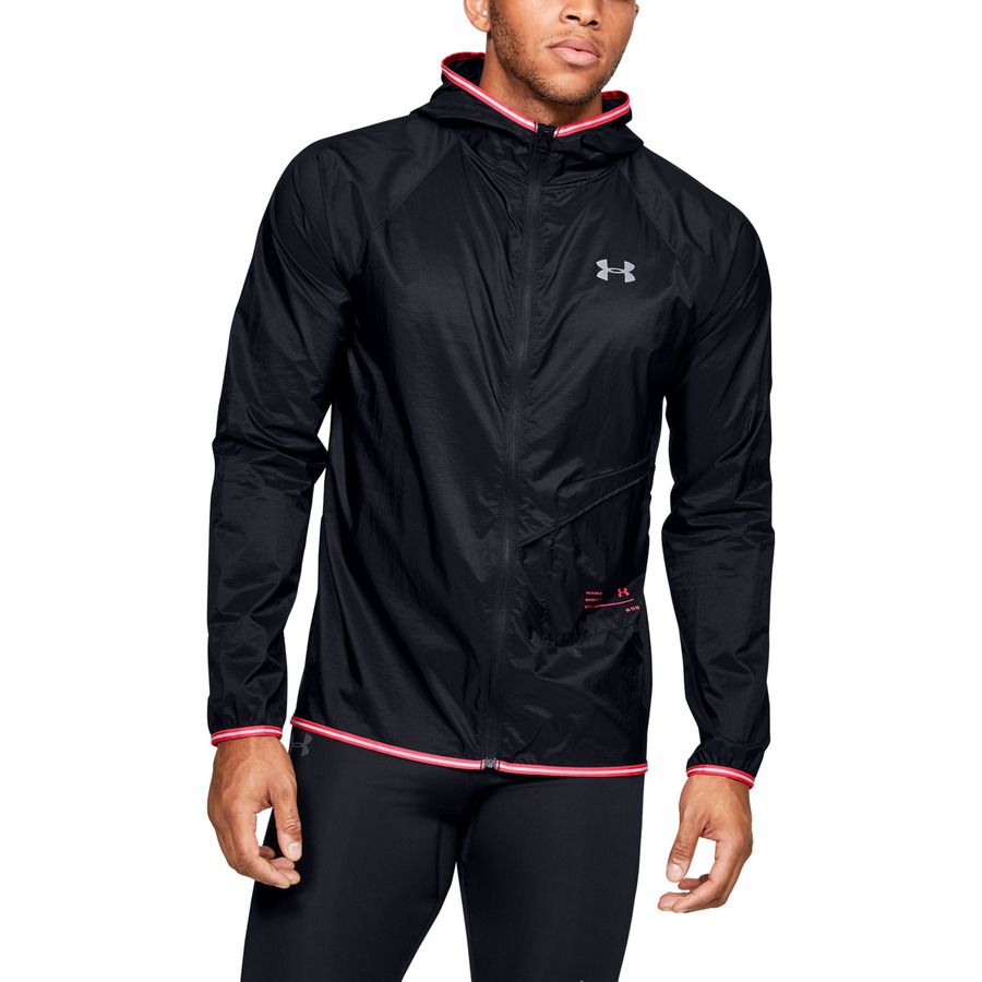 Under Armour Qualifier Storm Packable Jacket Black – S