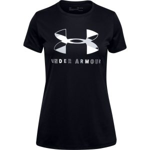Under Armour Tech Graphic Big Logo SS T-Shirt Black – YS
