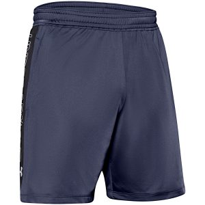 Under Armour MK1 7in Graphic Shorts Blue Ink – S