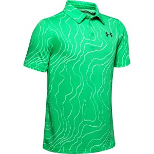 Under Armour Playoff Polo Vapor Green – YM