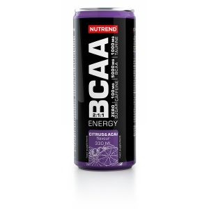 Nutrend BCAA Energy 330 ml citrus+acai
