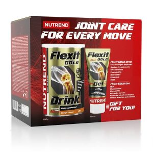 Nutrend Flexit Gold Drink 400 g + Flexit Gold Gel Pomaranč
