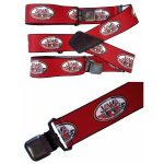 MTHDR Suspenders JAWA Red Red