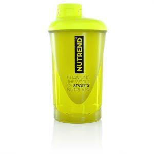 Nutrend Shaker 2019 600 ml žltá